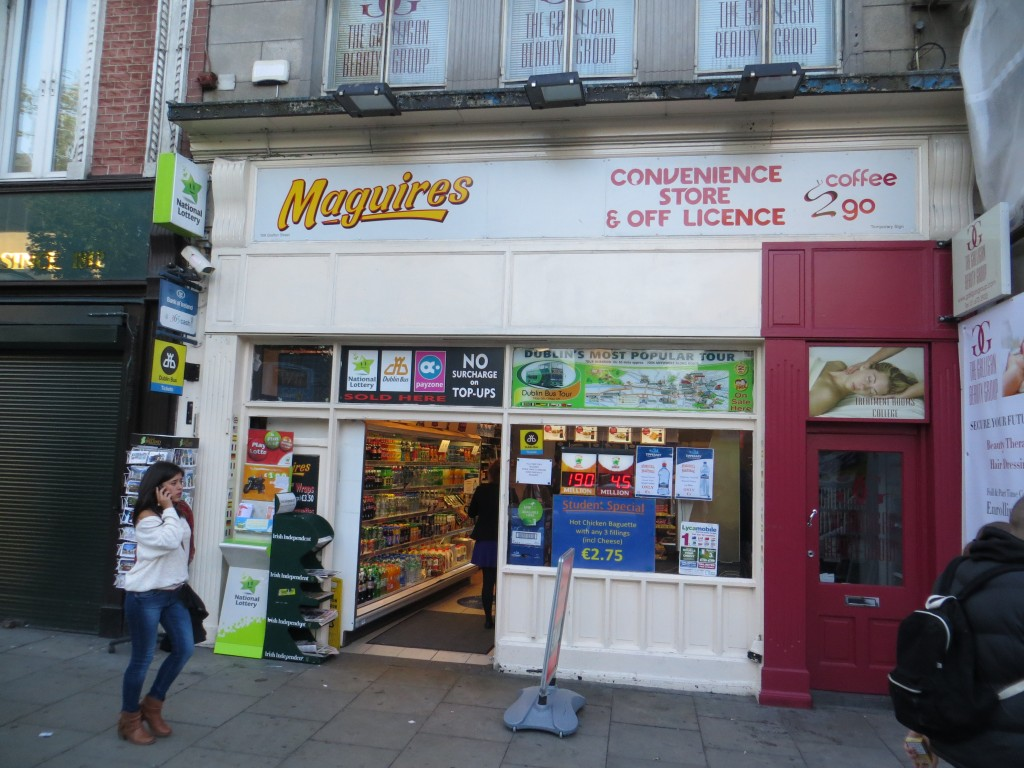Maguires Convenience Store in Dublin