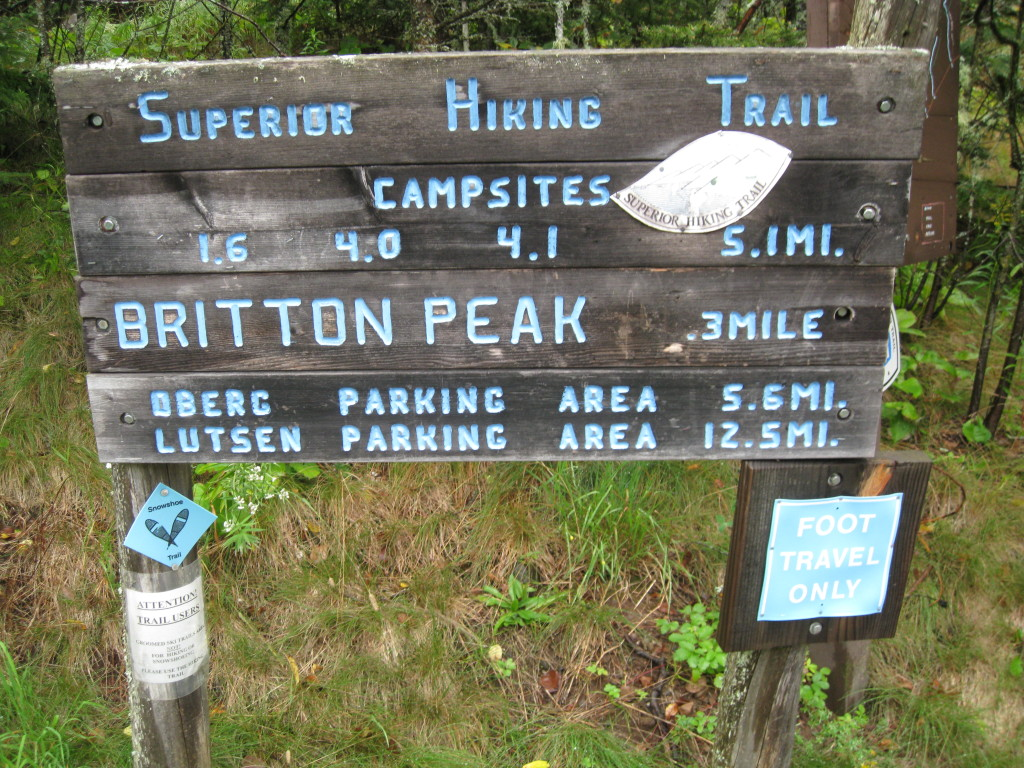Britton Peak Trailhead